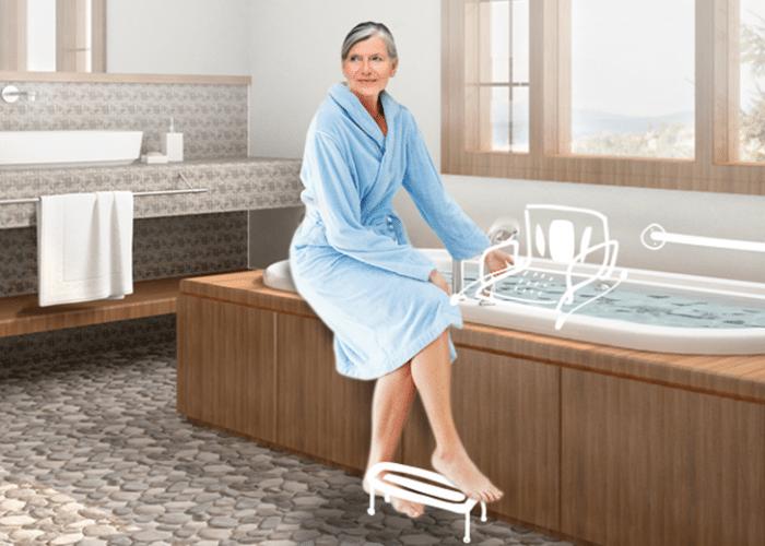 baignoire bien être