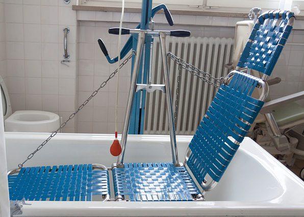 maintien baignoire